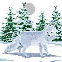 Nieve Invierno Zorro 33cm x 33cm 33cm x 33cm 20 x 3 Capas Servilletas de... - $11.52