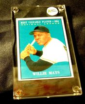 Willie Mays Baseball Trading Card # 482 AA19-BTC4007 Vintage Collectible image 3
