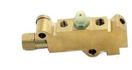 Universal GM Brass Finish Disc/Disc Brake Proportioning Valve - $32.66
