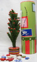 Department 56 Mailable JOY TO THE WORLD TREE w/ ornaments play/rec message 2004 - $36.62