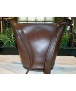 Coach Helens Legacy Leather Bucket Duffle Zipper Shoulder Bag 9953 Vintage 1998 - $99.00