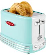 Nostalgia RTOS200AQ New and Improved Retro Wide 2-Slice Toaster Perfect NEW - $45.18