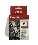 New Genuine Canon 6 Magenta 4707A003 BCI-6M Ink Jet Cartridge - $9.40