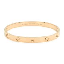 Cartier Love Bracciale Rigido Misura 19 18kt Oro Rosa Nuova - $7,287.88