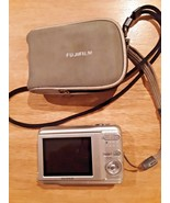 Parts Only - FujiFilm A850 8.1 MP Digital Camera and case - Silver - $4.94