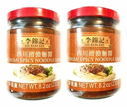Lee Kum Kee Sichuan Spicy Noodle Sauce 8.2 Oz(2 Pack)四川擔擔麵醬 - $25.73