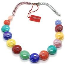Necklace Antique Murrina, CO833A19, Chain Groumette, Discs, Multi Colour image 2