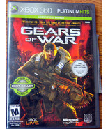 Gears of War -- Two-Disc Edition (Microsoft Xbox 360, 2008) COMPLETE - $5.75