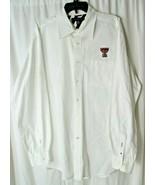 Tommy Hilfiger Texas Tech Long Sleeve Button Up Shirt Raiders Mens XL - $24.25