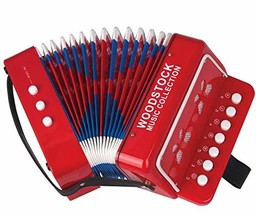 Woodstock Kid's Accordion- Music Collection - $39.37