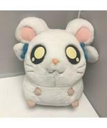 2002 Hamtaro Bijou Ham-Ham Blue Bows Hamster Plush Stuffed Animal 9″ - $59.99