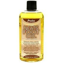 Angelus Prime Neatsfoot Oil Compound Smooth Leather 8 oz. U--000 - $10.66