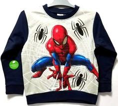 Marvel SPIDER-MAN Sweatshirt (U.S. Size 5) RARE/Intl Release - $14.84