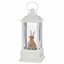 Raz Imports lighted glitter water lantern Dog with bunny ears 4000757 - $49.49