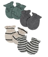 Gerber Baby Boy 4-Piece ORGANIC Mittens Set, Size 0-3M - $9.95