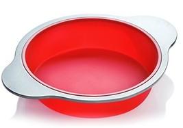 Silicone Round Cake Pan. Large 9-inch Baking Cake Mold by Boxiki Kitchen... - ₹1,684.27 INR