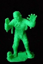 Universal Studios Monsters Marx Monster Figure Mummy Lt Green halloween - $28.99
