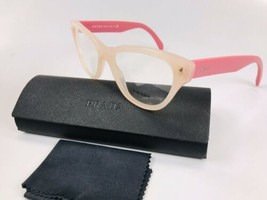 ✴ New Prada VPR 23S UEW-1O1 Two Toned Pink Eyeglasses 52mm with Prada Case - $82.76