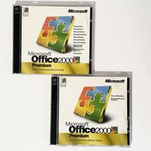 Genuine Microsoft Office 2000 Premium Edition Full Version 1999 w/ CD Key - $79.17