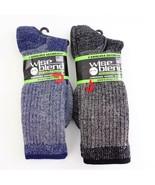 Carolina Ultimate Merino Wool Blend Socks 2 Pairs Mens Sz 10-13 New - $21.76