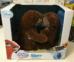 Disney Store FINDING DORY Interactive OTTERS Plush Set - NEW IN BOX - $64.35