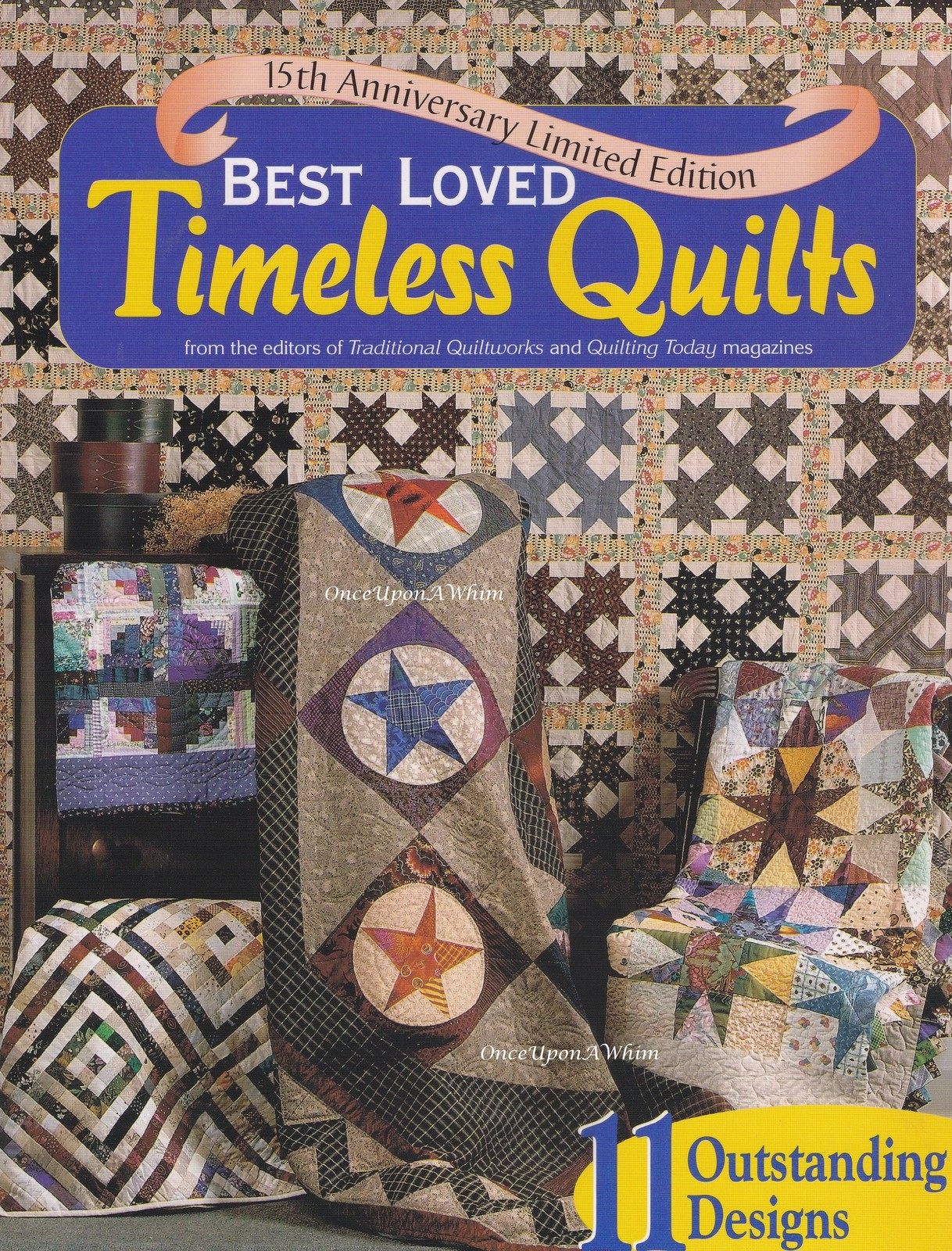 Primary image for Best Loved Timeless Classic Quilts, Chitra Quilting Sewing Pattern Booklet 51495
