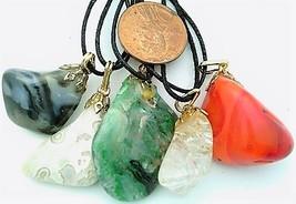 Baroque Style Gemstone Pendant Lot 9 - $15.00