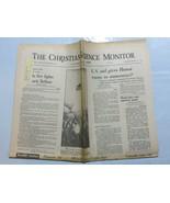 The Christian Science Monitor 1973 February 9 Vietnam Hanoi Belfast Nixo... - $39.99