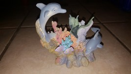 Dolphin Figurine Made Of Plastic, Excellent Condition!!!! - $0.98