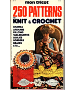 mon Tricot 250 Patterns to Knit & Crochet - $2.95