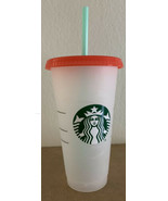 Starbucks New Summer 2021 Color Changing Swirl Reusable Cold Cup Marble - $13.86