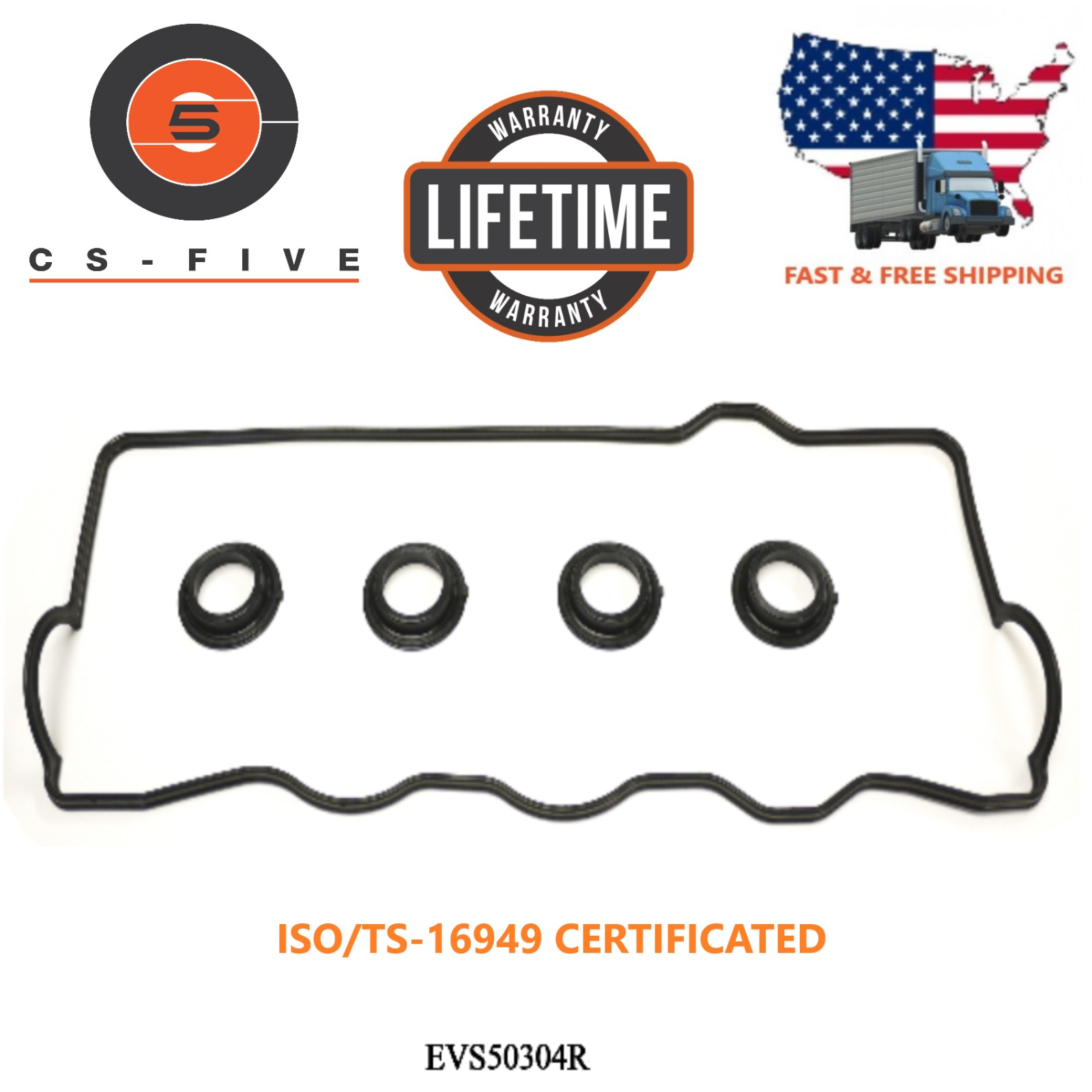 LIFETIME Engine Valve Cover Gasket Fit TOYOTA CAMRY 92 93 94 95 96 97 98 99 2000 - $11.99