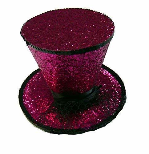 LAA2063 (Fuchsia) Mini Top Hat W Veil