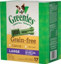 Greenies Grain-Free Large Dental Dog Treats By Greenies, 17 count - $40.70 CAD