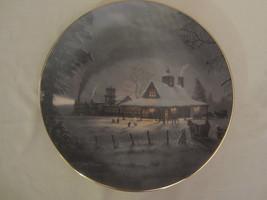 Collector Plate NIGHT DEPARTURE Jesse Barnes WHEN ALL HEARTS COME HOME #... - $57.09