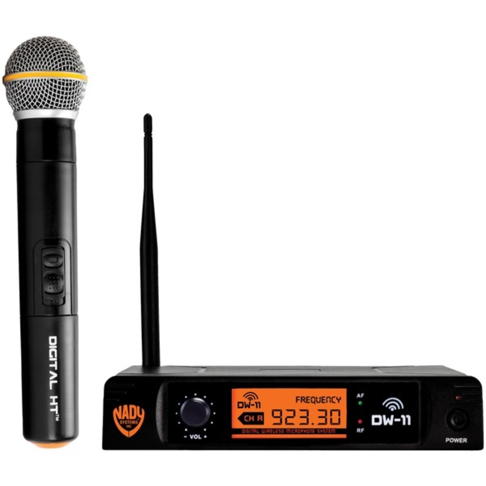 Primary image for Nady DW-11-HT-ANY Single-Channel Digital Wireless Microphone System (Digital HT