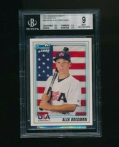 2010 Bowman Draft Prospects #BDPP95 Alex Bregman RC BGS 9 - $20.00