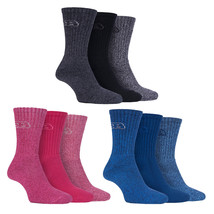 Storm Bloc - 3 Pack Womens Lightweight Padded Cotton Hiking Socks for Summer - $12.99