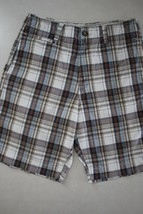 American Eagle Outfitters Men's Flat Front Longer Length Shorts 30W - $19.79