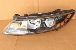 11-13 Kia Optima Headlight Lamp Halogen Driver Left LH image 1