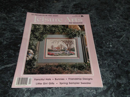 Leisure Arts the Magazine April 1990 On Butterfly Wings - $2.99