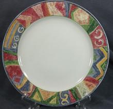 Sakura Malaga Dinner Plate Sue Zipkin Stoneware Geometric - $19.95