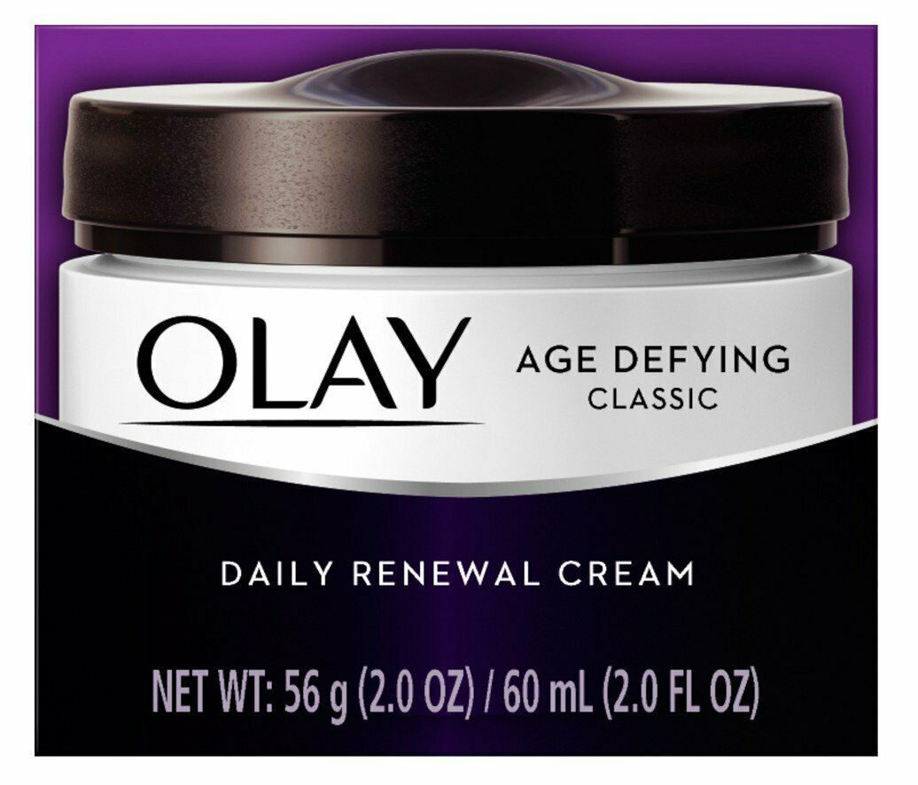 Primary image for OLAY Age Defying Classic Daily Renewal Cream 2 oz
