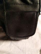 Fossil Genuine Leather Black Shoulder Purse 75082  ZB8023 VINTAGE  image 4