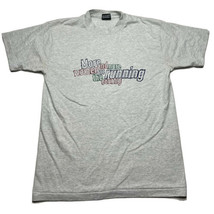 Vintage 90s Women Running The Country Girl Power Graphic T Shirt Size Me... - £17.94 GBP