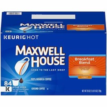 Maxwell House Breakfast Blend K-Cup Coffee Pods, 84 ct Box - $48.18