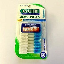 NEW GUM Soft-Picks For Wider Spaces, 80 PACK - US SELLER - $16.44