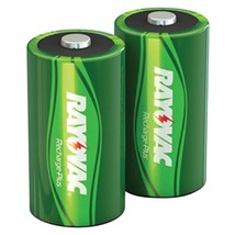 Rayovac Ready-to-use Rechargeable Nimh Batteries (d; 2 Pk; 3,000mah) RVCPL71 - $27.73