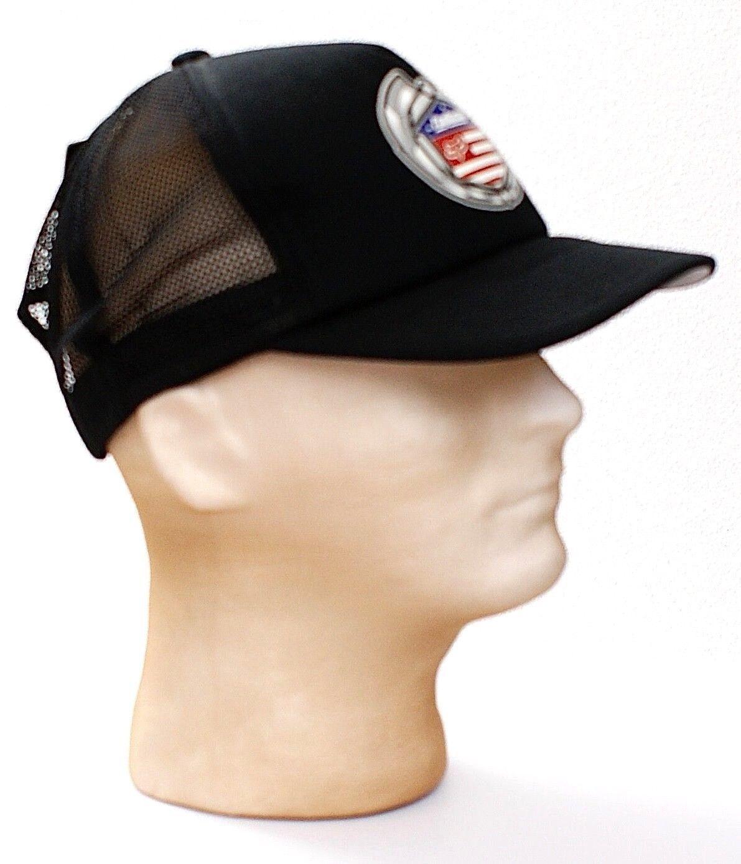 Fox Racing Black Mesh Back Blvd Trucker Hat Snapback One Size Men's NWT