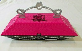 2011 MONSTER HIGH Create A Monster CAM Design Lab Coffin Case Only - $25.51